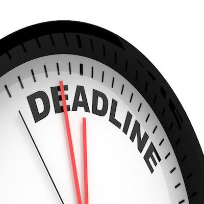 Meet the Application Deadline