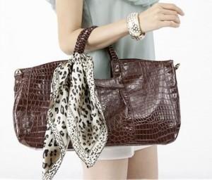 on a purse