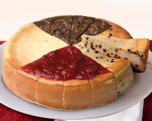 cheesecake sampler from Eli's