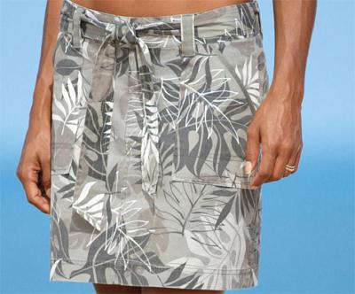 printed skirts at Crazy Shirts