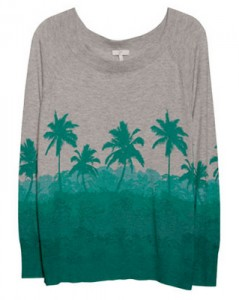 Palm tree sweaters