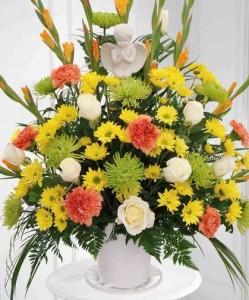 easy floral decor