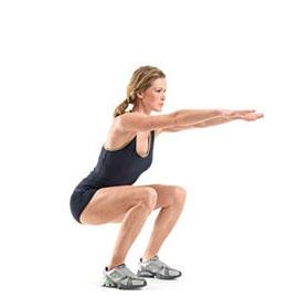 Squats, squats and more squats