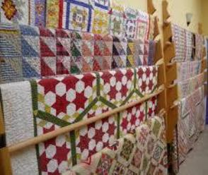 decorate with quilts