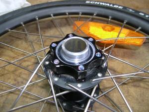 Check the wheel bearings