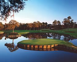 A golf greens fee