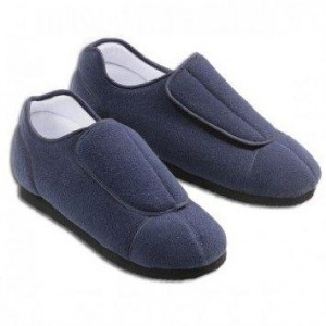 Super wide slippers