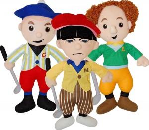 three stooges golfers