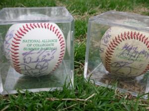 Autographed balls