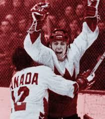 Paul Henderson's 1972 hockey jersey