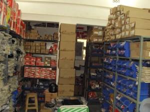 Business storeroom