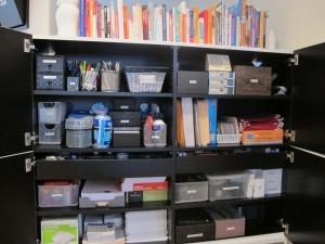 department storage cabinet