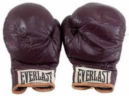 Muhammad Ali's fighting gloves