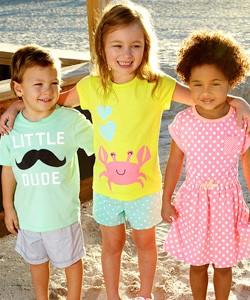 Kids in play clothes