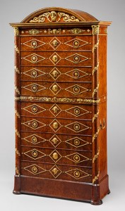 Empire antique dresser