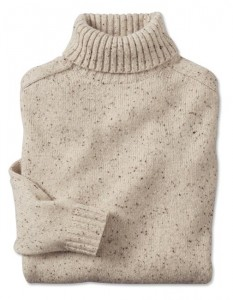 orvis white sweater