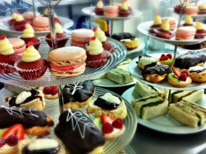 Sweets for tea table