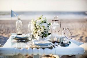 tropical beach wedding