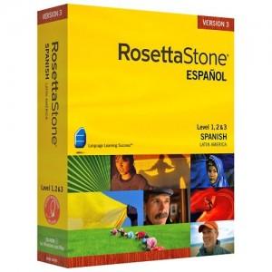 Rosetta Stone spanish software