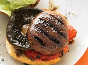 vegetarian grill portobello