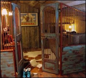 home decor style western jail