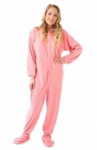 women in pink pajamas
