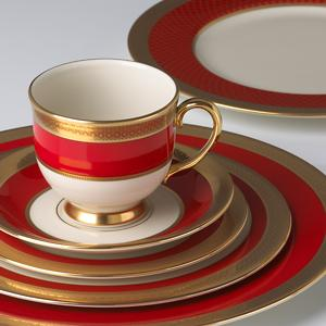 Fine Lenox china placesetting