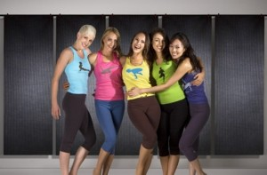 women in yoga gear from Chakras by Didi