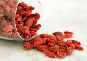 Acai and goji berry