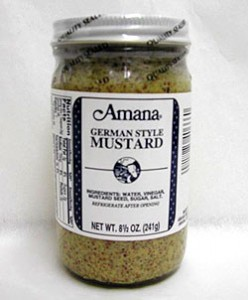 German mustard from Heart of Iowa