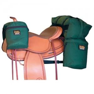 saddlebags  and saddle