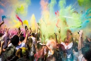 Holi Festival of Colour in India