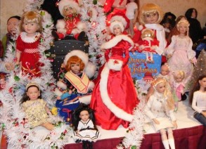 holiday doll collection