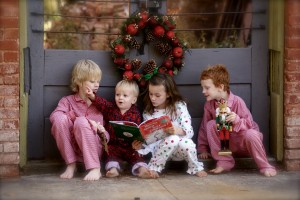 kids with a book