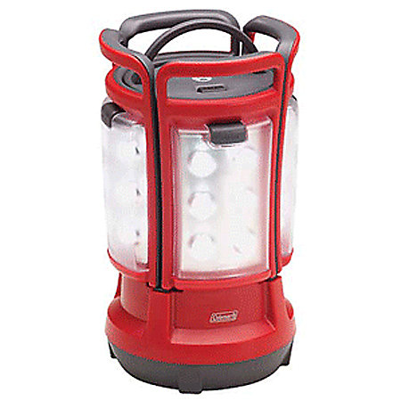 red electric lantern for camping