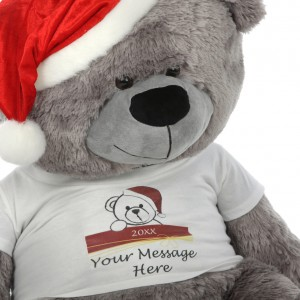 big stuffed teddy bear