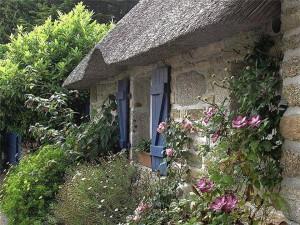 cottage with garden
