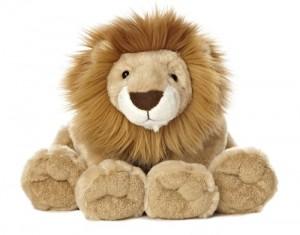 stuffed plush lion