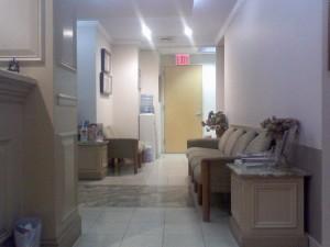 hallway waiting room