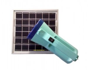 solor charge flashlight
