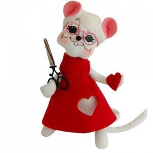 ANNALEE DOLLS Valentine's Mouse