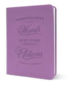 purple gratitude journal
