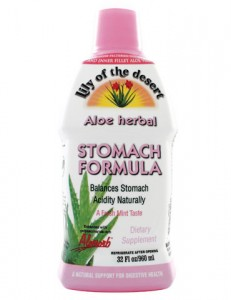 aloe for stomach