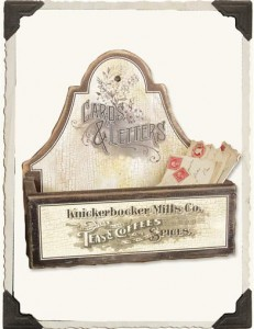 letter box from Victorian Trading Company