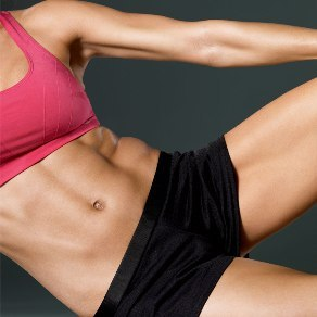 fit womans abs