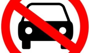no car symbol