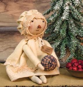 Rustic rag dolls