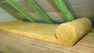 attic insulation roll