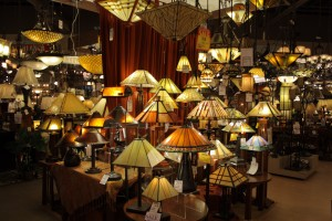 lamps and ceiling fixtures