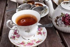 rosebud tea set